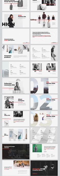 EVERY - FREE MINIMAL POWERPOINT & KEYNOTE TEMPLATE on Behance