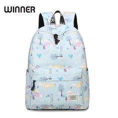 2017 Fresh Lady Animal Printing Waterproof Polyester Bag Casual School Backpacks for Teenage Teens Girls #Affiliate