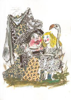 Alice in Wonderland: Emanuele Luzzati. Alice nel Paese delle Meraviglie.