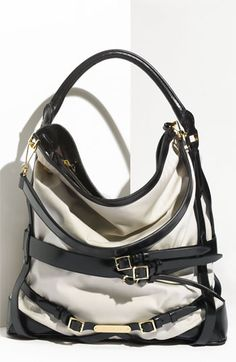 Burberry Belted Hobo. In my dreams. $1195  Anyone have $1200 that I can borrow?