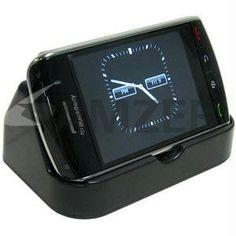 Amzer Deluxe Desktop Cradle with Extra Battery Charging Slot