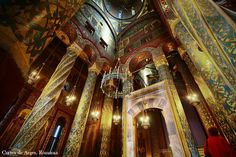 Inner look of Manastirea curtea de arges church,Romania[1200*800]