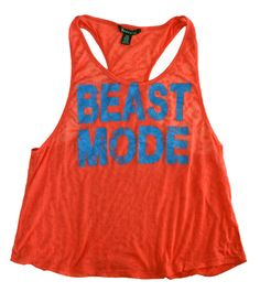 Beast Mode Tank for workouts lol