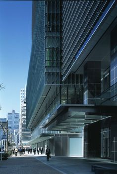 This 20-story mixed-use development stands on two parcels formerly occupied by the Tokyo Department Store in the Nihonbashi district, and is adjacent to a nu...