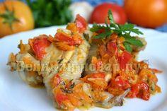 Куриные крылышки тушёные с морковью и перцем | Великий повар