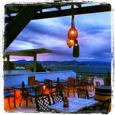 Espectaculares vistas desde la terraza.. Spain, Bar, Outdoor Decor, Home Decor, Polka Dots, Terrace, Flamingo, Decoration Home, Room Decor