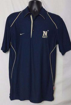 Nike Dri Fit Navy Men's Short Sleeve Multi Color Polyester Blend Shirt Size S #Nike #BaseLayers