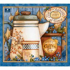 Warmth of Home Calendar 2017 by Diane Knott www.shoplegacy.com WCA28105