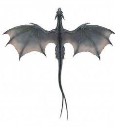 Image detail for -Gray Dragon (overhead).png - Art World Small Dragon Tattoos, Dragon Tattoo Designs, Small Tattoos, Dragon Tattoo Back, Body Art Tattoos, New Tattoos, Tatoos, Drawing Tattoos, Fantasy Dragon