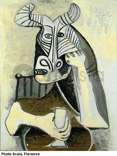 ♥  the bull man drinking ♥ Pablo Picasso