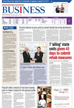 The Nation's Business Page, July 26, 2014 #TheNation