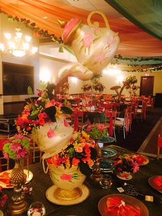 Mad Hatter Tea Party.....2015