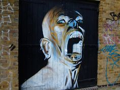 speechless - alongside the canal in east london. via Flickr