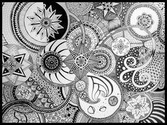 LookaszART · zentangle inspirations, drawing.