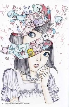 "akatako: "" from ""Panna Cotta"" by Shintaro Kago """