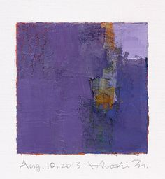Aug. 10 2013  Original Abstract Oil Painting  por hiroshimatsumoto