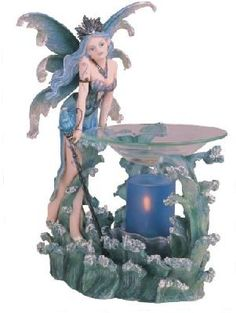 Electric Oil Burner Water Fairy Collectible Aromatherapy Collection