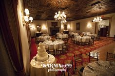 Wedding reception at one of the NYAC dining rooms. www.sarmaandco.com