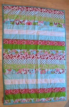 Jelly Roll Baby Quilts