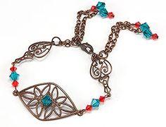 Jewelry Making Idea: Vintage Dream Bracelet (eebeads.com)
