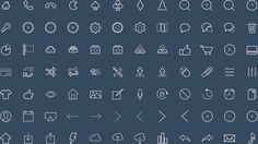 Free UI vector Icons #freebies #designicons #uielements