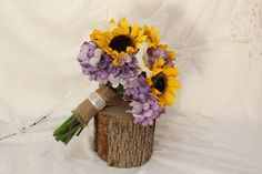 sunflower wedding bouquet - Yahoo Image Search Results