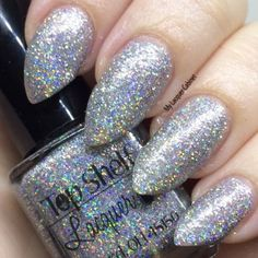Top Shelf Lacquer Tinsel Bellini. This nail polish makes me weep.