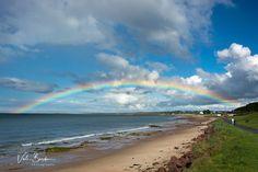 Rainbow over Nairn Beach