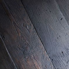 This reclaimed timber was originally roof board and is ideal for using as an aged floorboard. These boards come in a dark brown colour - ML Interior Design Home Store - £75 (Please note the price is per square metre)