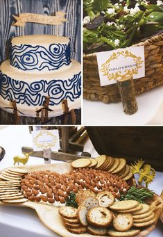 "Modern ""Into the Woods"" Nature Inspired Party"