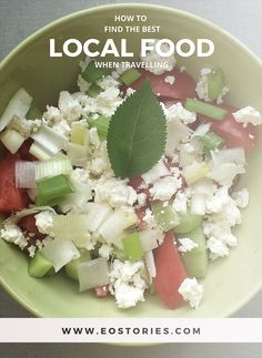 How to find the best local food when travelling http://eostories.com/2015/05/23/how-to-find-the-best-local-food/