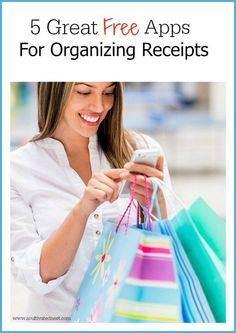 Here are 5 apps to organize receipts (that are free) to help you keep your receipts organized year-round! If you're the type of person that loves to use your phone for everything then you'll love this.
