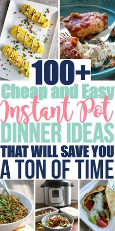 Wow! There are so many different Instant Pot recipes in this post! I added a few of these Instant Pot Meal ideas to our meal plan and my family loved them! My kids are picky eaters but they asked for seconds! You have to try some of these Instant Pot Dinner ideas if you are new at using an Instant Pot!