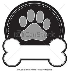 Pawprint Illustrations and Clipart. 250 Pawprint royalty free ...