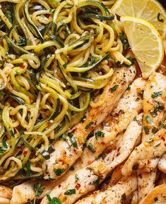 Sunday Dinner Ideas Discover Lemon Garlic Butter Steak with Zucchini Noodles Cowboy Butter Chicken and Zucchini Noodles - This GORGEOUS paleo dinner idea is simple easily customizable and pretty much fail-proof. Zucchini Dinner Recipes, Zucchini Noodle Recipes, Healthy Zucchini, Zucchini Noodles, Lemon Zucchini, Recipes Dinner, Keto Foods, Keto Recipes, Cooking Recipes