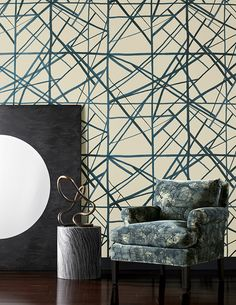 Inspired: Kelly Wearstler Wallpapers | CLOTH & KIND