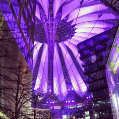 Sony Center at Berlin is quite experience