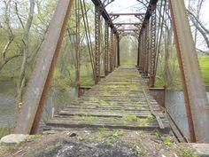 Abandoned Railroad Truss Bridge  --mistertristan.blogspot.co.uk--