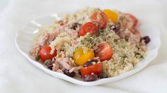 Italian Tuna Quinoa Salad
