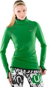 Extreme Coldgear reversible shirt. Textured side keeps you warm, fleece side keeps you warmer.