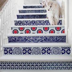 Inspiration för att dekorera din trappa och trappsteg