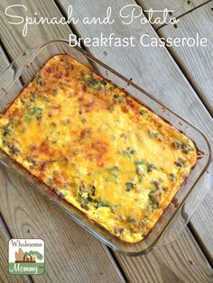 I made this breakfast casserole for my family while they were visiting. It was a great dish to feed and crowd and it was so delicious everyone kept going af