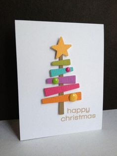 Colorful Happy Christmas by lisaadd - Cards and Paper Crafts at Splitcoaststampers