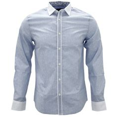 Shirtacy Floral Blue Stripe Shirt by Shirtacy HKD$249 #formalshirts #businessattire #workshirt #mensfashion #menswear #hk #hongkong #onlinestore #onlineshopping #hkshop #stylish #floral #stripe #shirtacy