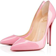 Collection featuring Christian Louboutin Pumps, INDIAN ROSE Pumps, and 168 other items Louboutin High Heels, Shoes Heels Pumps, Stiletto Shoes, High Heels Stilettos, Boot Heels, Patent Shoes, Christian Louboutin Outlet, Manolo Blahnik Heels, Fashion Heels