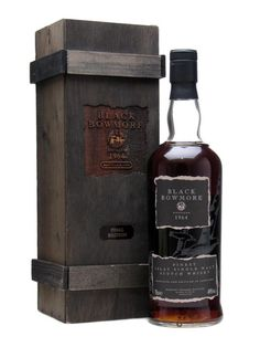 Black Bowmore 1964 / 31 Year Old / Final Edition Scotch Whisky : The Whisky Exchange