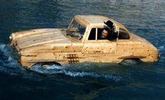 Venetian artist Livio De Marchi transforms the world around him into detailed wooden replicas