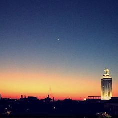 Burnt Orange perfection! #Texas #sunsets #UTAustin