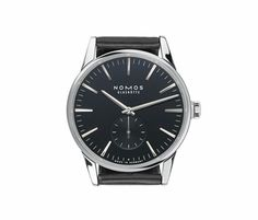 Love that watch. So pure. German made quality by NOMOS Glashütte.