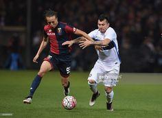 Gary Medel en el Geona - Inter de Milan
